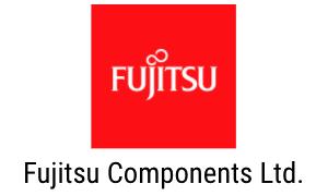 fujitsu components red