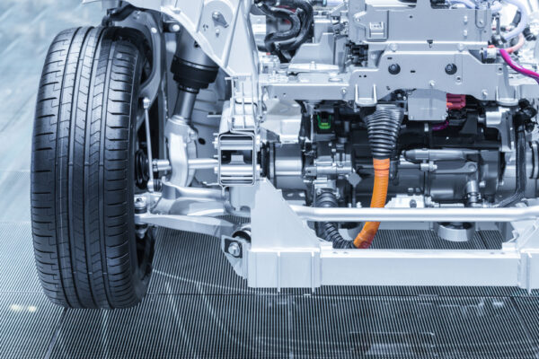 chassis of electric